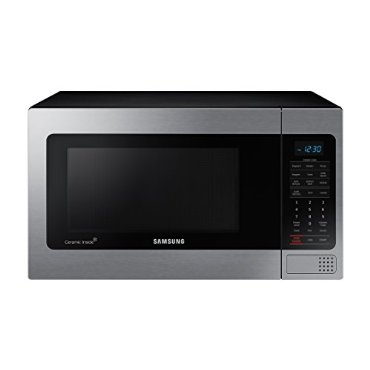 Samsung MG11H2020 Counter Top Microwave with Grilling Element (1.1 Cubic Feet, Stainless Steel)