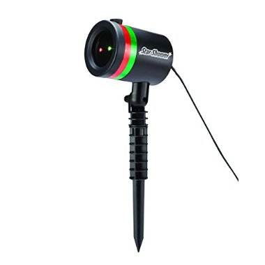 Star Shower Laser Light Outdoor Christmas Lights by Bulbhead