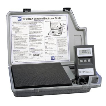 TIF TIF9010A Slimline Refrigerant Electronic Charging/Recover Scale