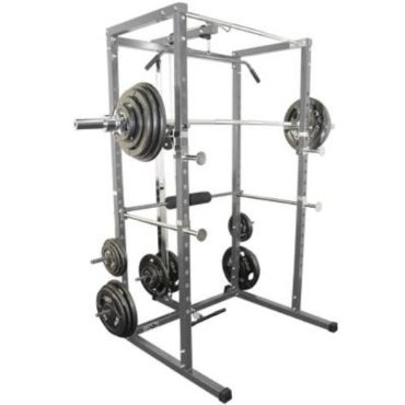 Valor BD-7 Power Rack with Lat Pull Attachment