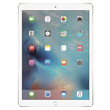 Apple iPad Pro 12.9 Tablet (128GB, Wi-Fi, Silver, ML0Q2LL/A)