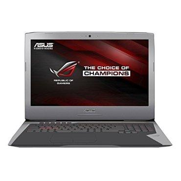 Asus ROG G752VL-DH71 17 Gaming Laptop with Intel Core i7-6700HQ, 16GB RAM, 1TB HDD