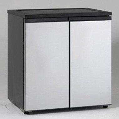 Avanti RMS551SS Side by Side Refrigerator/Freezer, 5.5 cu. ft., Stainless Steel