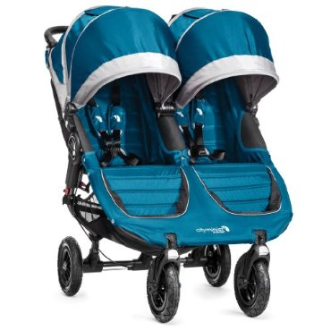 Baby Jogger City Mini GT Double Stroller (Teal/Gray)