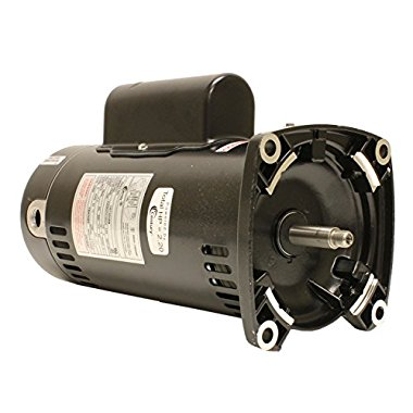 Century USQ1202 2 HP, 3450 RPM, 48Y Frame, Capacitor Start/Capacitor Run, ODP Enclosure, Square Flange Pool Motor