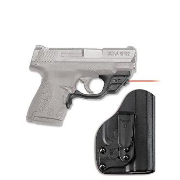 Crimson Trace Smith & Wesson M&P Shield Laser w / IWB Holster (LG-489-HBT)
