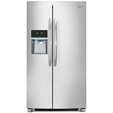 Frigidaire FGHC2355PF Gallery 22.6 Cu. Ft. Counter Depth Side-By-Side Refrigerator (Stainless Steel)