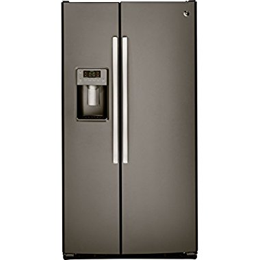GE GSS25GMHES 36 Side-By-Side Refrigerator (Slate)