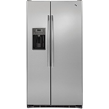 GE GZS22DSJSS 21.9 Cu. Ft. Counter Depth Side-by-Side Refrigerator (Stainless Steel)