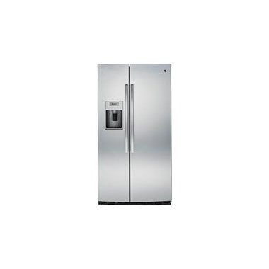 GE PSE25KSHSS Profile 25.4 Cu. Ft. Side-By-Side Refrigerator (Stainless Steel)