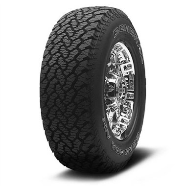 General Tire Grabber AT2 LT285/75-16 (75R R16) 122Q OWL Tires (Set of 4)