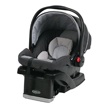 Graco SnugRide Click Connect 30 LX Infant Car Seat, Glacier