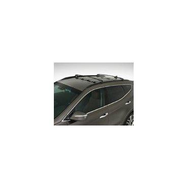 Hyundai Santa Fe 2013-2017 Genuine Roof Crossbar Set (for Non-Panoramic Roof, # 4Z021-ADU01)