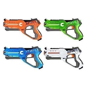 Laser Tag Multiplayer 4 Pack Set for Kids