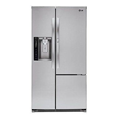 "LG LSXS26366S 35"" Side by Side 26 cu. ft. Refrigerator (Stainless Steel)"