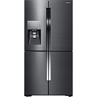Samsung RF23J9011SG 22.5 Cu. Ft. Counter Depth French Door Refrigerator (Black Stainless Steel)