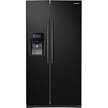 Samsung RS25J500DBC 25.0 Cu. Ft.Side-by-Side Refrigerator (Black)