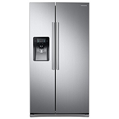 Samsung RS25J500DSR 36 Freestanding Refrigerator (Stainless Steel)