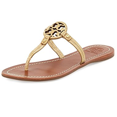 Tory Burch Mini Miller Leather Sandal (2 Color Options)