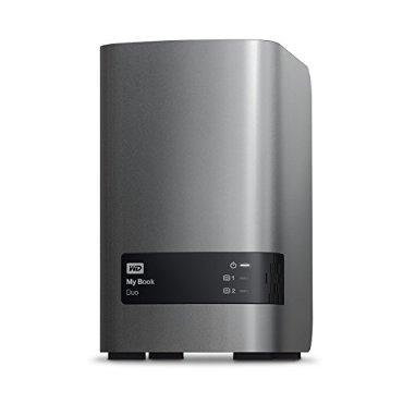 WD My Book Duo 12TB Desktop RAID External Hard Drive - USB 3.0 - (WDBLWE0120JCH-NESN)