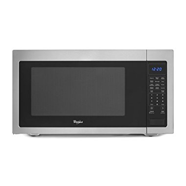 Whirlpool WMC50522AS 2.2 Cu. Ft. Stainless Steel Countertop Microwave