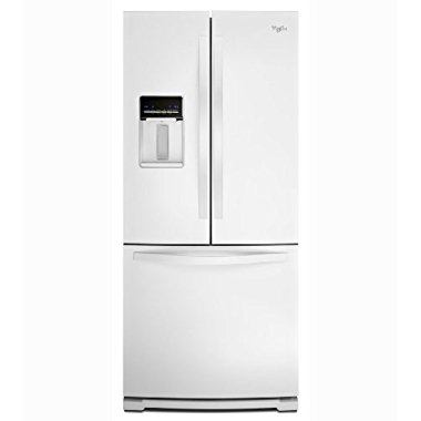 Whirlpool WRF560SEYW 19.5 Cu. Ft. French Door Refrigerator (White)
