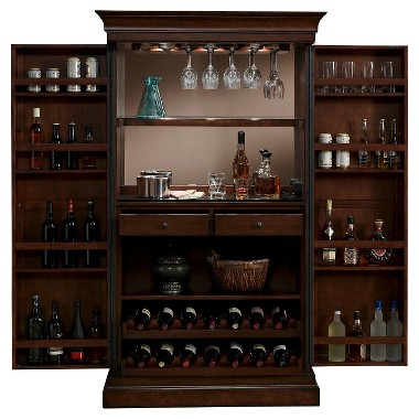 Angelina Wine Cabinet from American Heritage (Navajo)