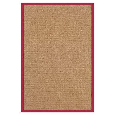 Athena Wool Area Rug - Red (9'10 X 13')