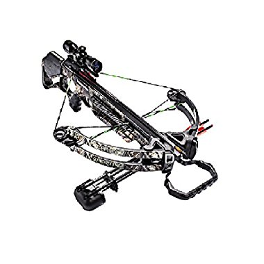 Barnett Droptine Crossbow Package with 4x32 Scope (Camouflage, 78058)