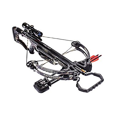 Barnett Whitetail Hunter 160# Crossbow Package 4x32 Scope High Def Camo, 78038