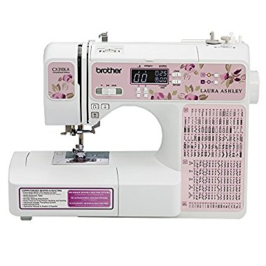 Brother Laura Ashley Limited Edition CX310LA Computerized Sewing and Quilting Machine with 14' Wide Table
