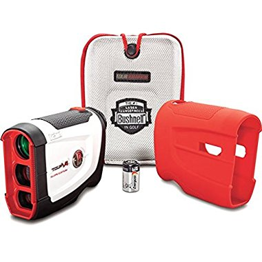 Bushnell Tour V4 Slope Patriot Pack Golf Laser Rangefinder