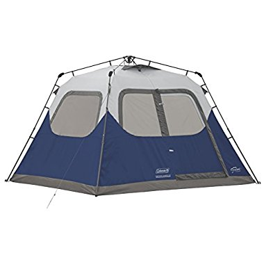 Coleman 6-Person Instant Cabin Tent (Blue)