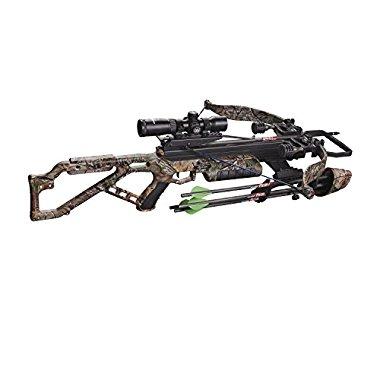 Excalibur Micro 355 Crossbow Package with Tact-Zone, Realtree Camouflage (3355)