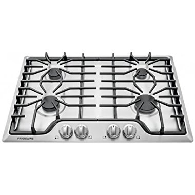 Frigidaire FFGC3026SS 30 Gas Cooktop with 4 Sealed Burner Style in Stainless Steel