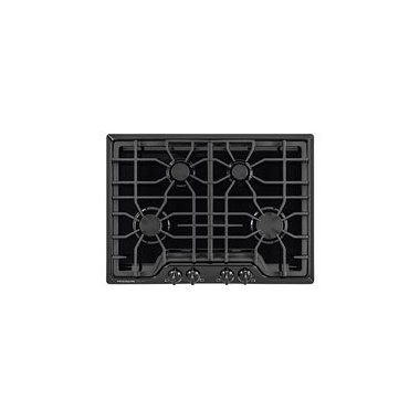 "Frigidaire FGGC3045QB Gallery 30"" Black Gas Sealed Burner Cooktop"