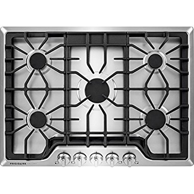 "Frigidaire Gallery FGGC3047QS 30"" Gas Cooktop, Stainless"