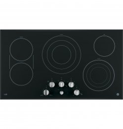 GE Cafe CP9536SJSS 36 Electric Cooktop