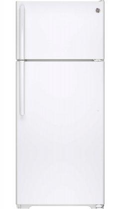 GE GTS18GTHWW 17.5 cu. ft. Top Freezer Refrigerator (White)