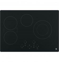 GE JP5030DJBB 30 Black Electric Smoothtop Cooktop
