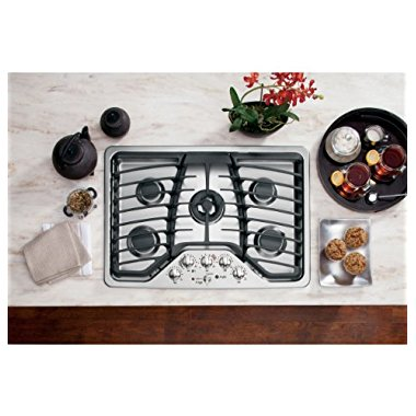 GE PGP959SETSS Profile 30 Stainless Steel Gas Sealed Burner Cooktop