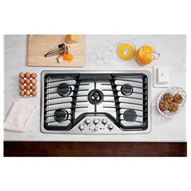 GE Profile PGP986SETSS 36 Stainless Steel Gas Sealed Burner Cooktop