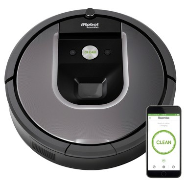 iRobot Roomba 960 Vacuum Cleaning Robot, Dark Grey