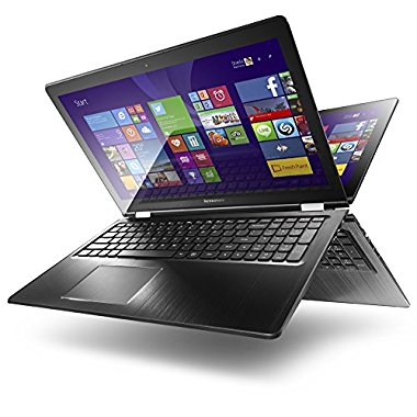 Lenovo Flex 3-1580 15.6 Convertible Notebook, HD Touchscreen, Intel Core i5-6200U 2.3GHz Dual-Core, 128GB Solid State Drive, 4GB DDR3, 802.11ac, Bluetooth, Win10Pro 64-Bit
