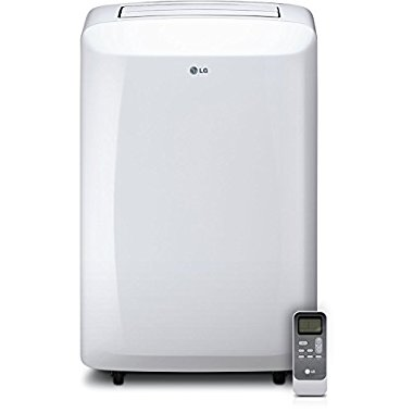 LG LP1015WSR Portable 10,000 BTU 115V Air Conditioner with Remote Control