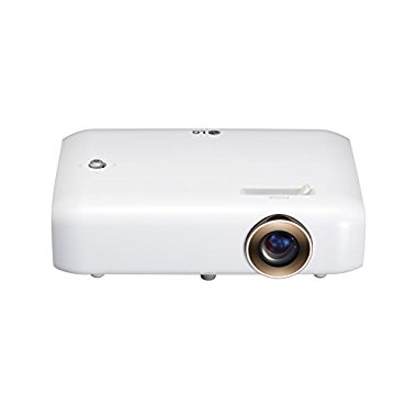LG PH550 HD Projector W/ Bluetooth Sound, Built-in Battery, Wireless Screen Share