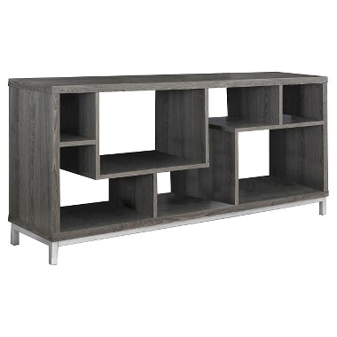 Monarch Specialties I 60 TV Stand, Dark Taupe (2578)