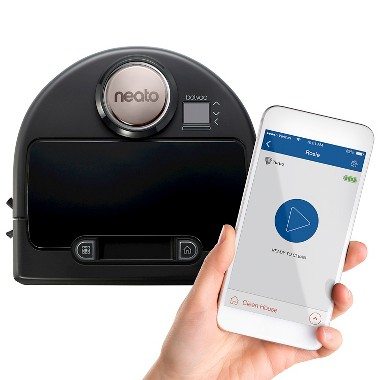 Neato Botvac Connected Floor Care & Cleaning Robotic Vacuum (9450177)