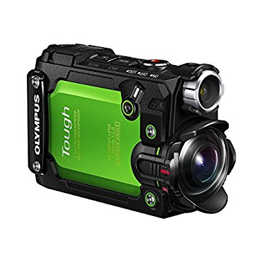 Olympus Stylus TG-Tracker 4K Action Cam Waterproof / Shockproof Camera (Green)