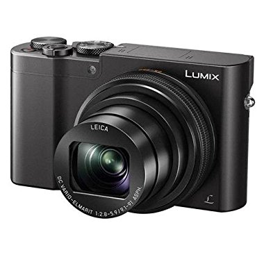 Panasonic Lumix DMC-ZS100 Camera, 20.1MP 4K Video, WiFi, Leica DC Lens with 10X Zoom (Black)